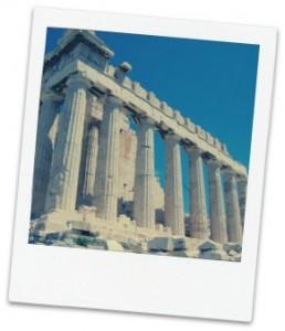 Parthenon remains Athens, Greece